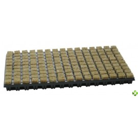 Bandeja 150 alveolos 25x25x40 lana de roca cultilene