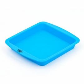 Bandeja silicona azul nogoo grande