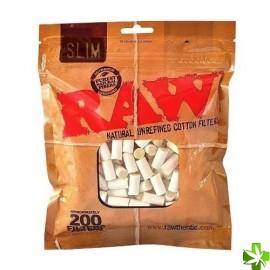 Filtro raw 100% algodon 200 unidades