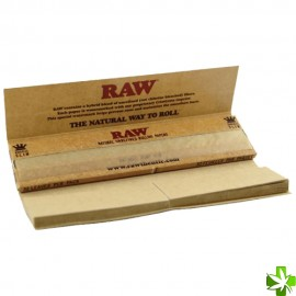 Papel raw connoisseur king size slim 1 unidad