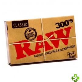 Papel raw 1 1/4 300 papelillos 1 unidad