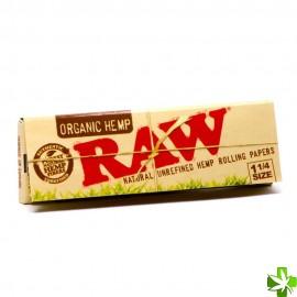 Papel raw organic 1 1/4 1 unidad