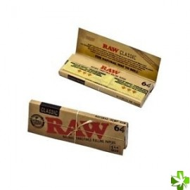Papel raw 64 classic 1 1/4 1 unidad