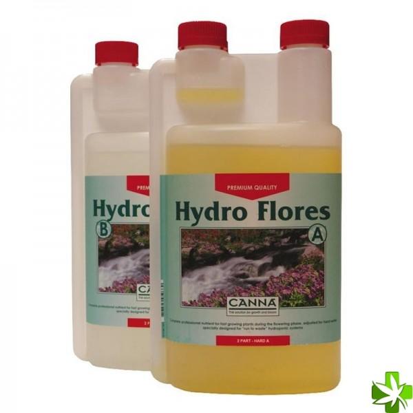 Hydro flores agua blanda a y b 1 l