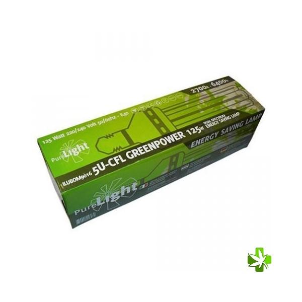 Pure light cfl 125 w greenpower (2700k-6400k)