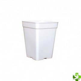 maceta blanca 13x13 - 2 litros