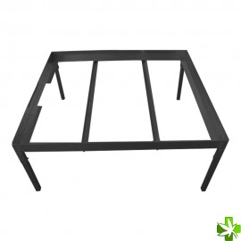 soporte mesa cultivo negra 0,6 x 0,6 m