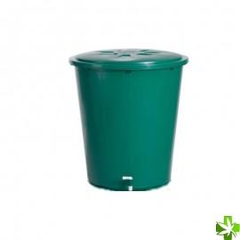 Deposito redondo verde 200 l (69 x 80 cm)